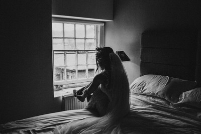 Alone with her thoughts