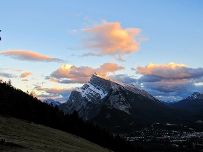 Sunset at Banff AB Canada (IMG_7510)