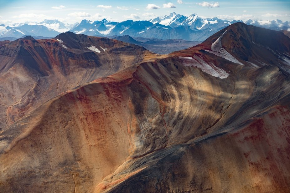 We chartered a plane to fly over this remote mountain range in Northern British Columbia hoping t...