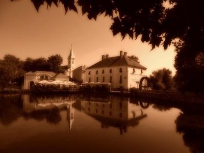 Lake Mill, Tapolca,Hungary
