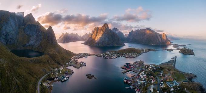 Another morning in Reine. by Richard-Beresford-Harris - Above The Earth Photo Contest