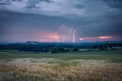 Thunderstorm over Bavaria