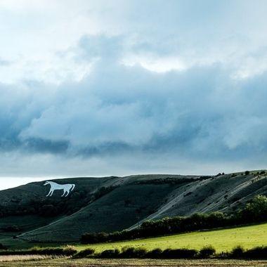 Westbury White Horse. UK.
