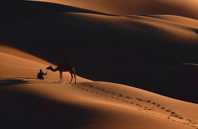 Liwa Desert - UAE by khaledbakkora - Sitting In Nature Photo Contest