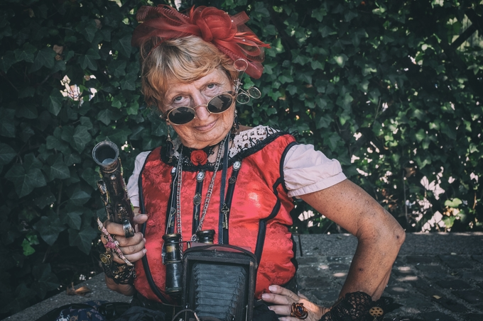 Steampunk convention Echternach 2018