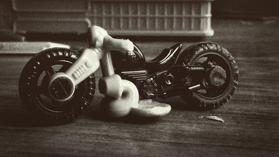 A bike.. bike bike bike.. just a toy.