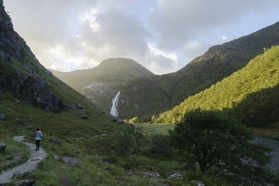 Hike to Steall Falls