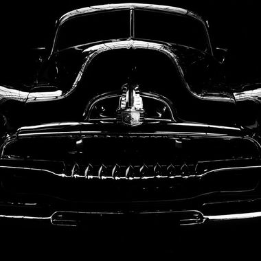 Classic Cars in Black and White