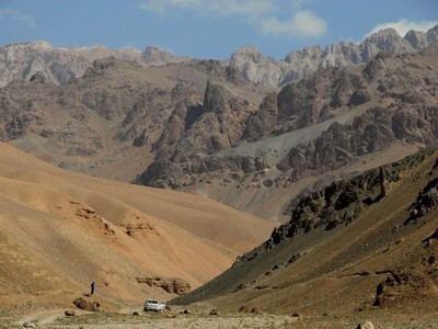 The bleak landscape of the Hindu Kush