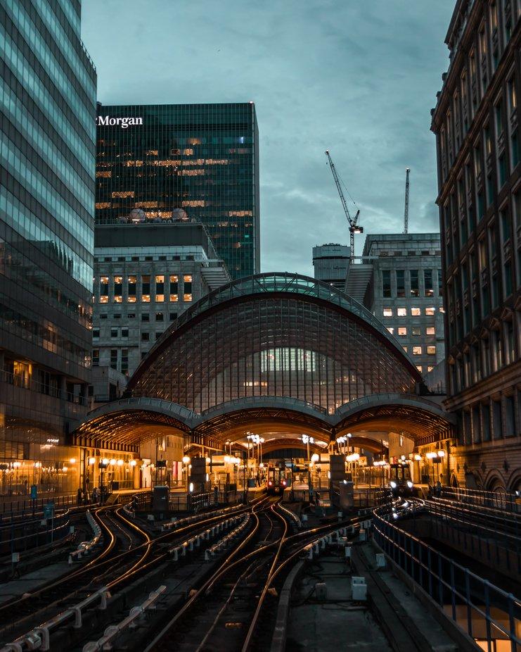 Canary Wharf Station by adamvasas - Public Transport Hubs Photo Contest