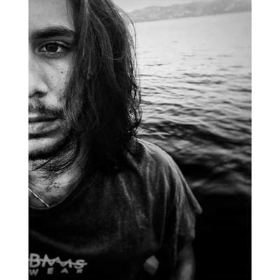 Alone in the sea...
