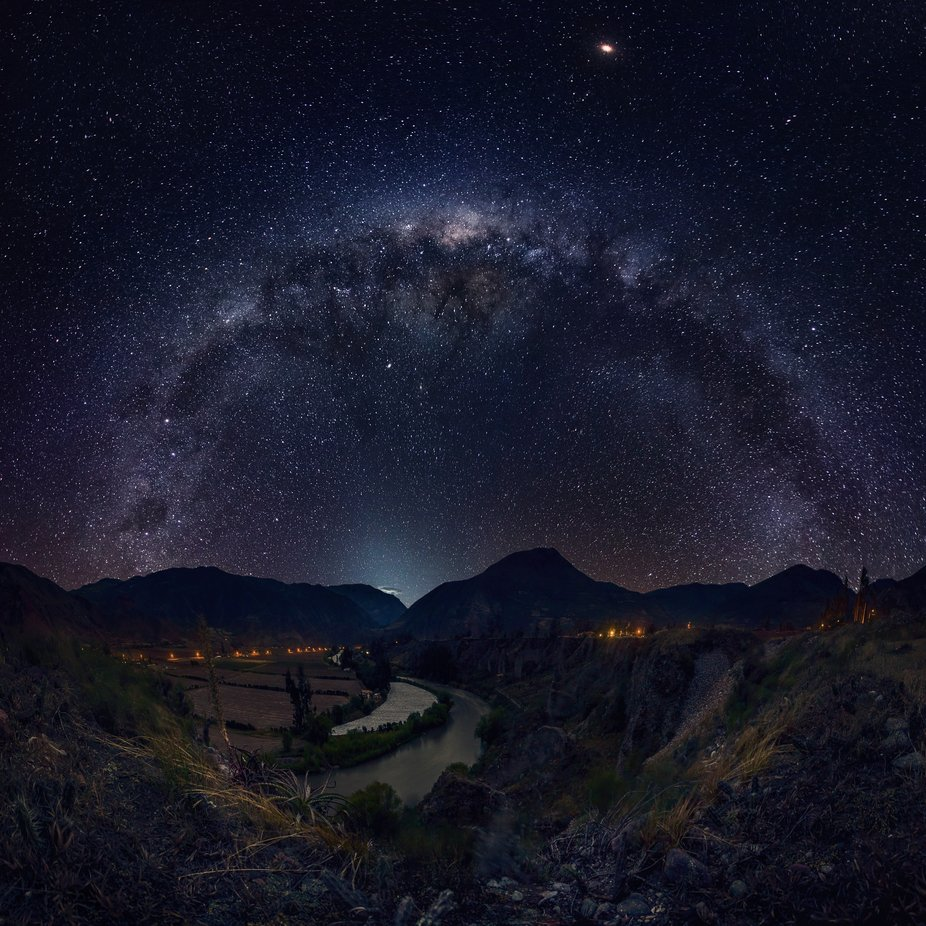 Apukuna, Uño & Mayu / Land of the Giants in the Big span of the Universe by iwangroot - Capture The Milky Way Photo Contest