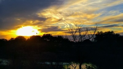 An evening in Brady, the Heart of Texas