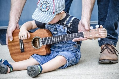 Uke lessons from Uncle Joe
