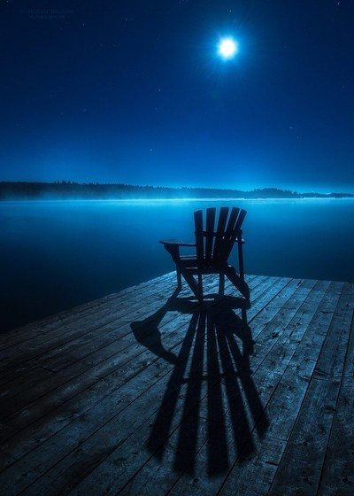 Sit. Feel the Night.