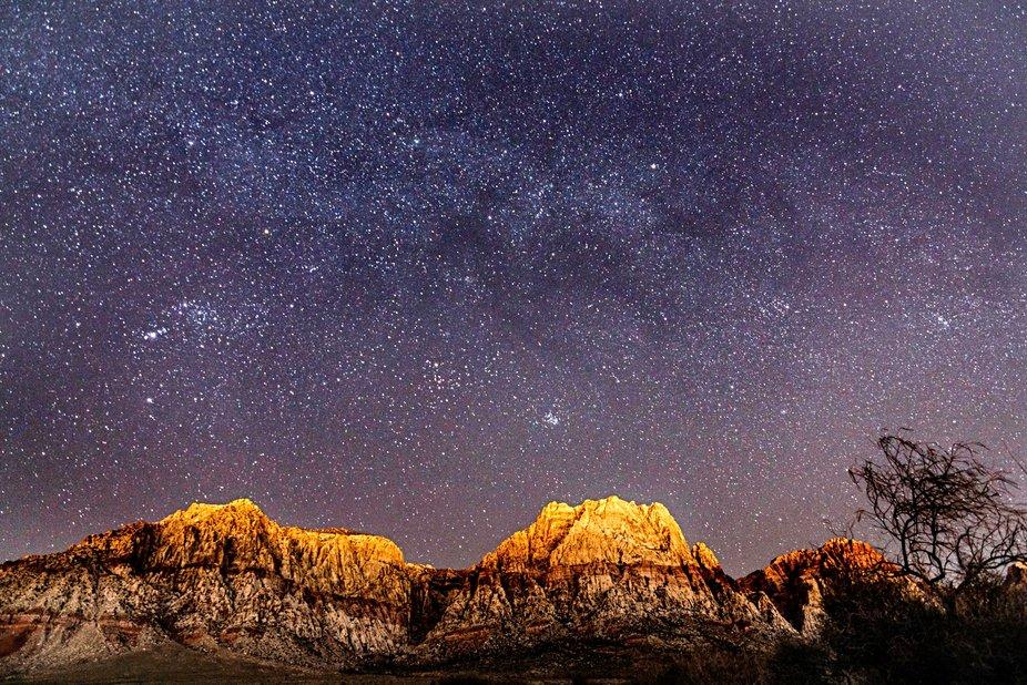 The desert sky