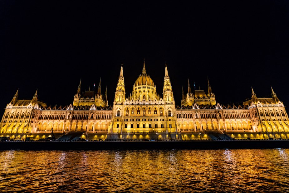 Budapest on a boat