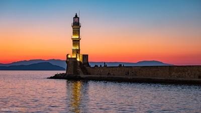 Chania's Lighthouse