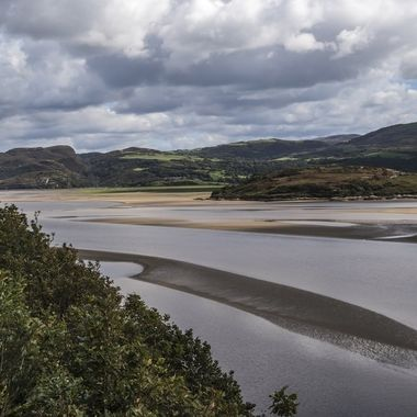The estuary of the River Dwyryd at Portmeirion