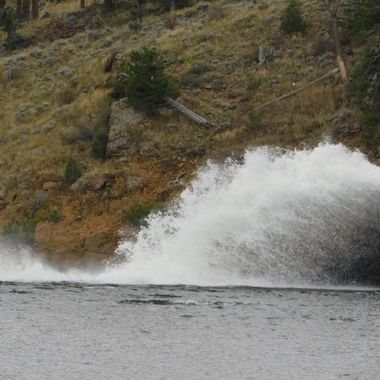 Water Released From the Hydroelectric Plant
