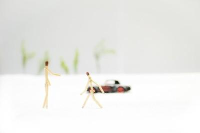 Car and Matchstick Man