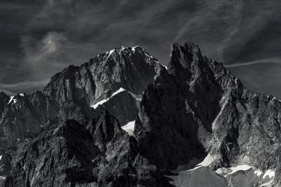 Monte Bianco foreshortening