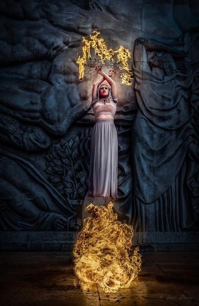 High fire priestess