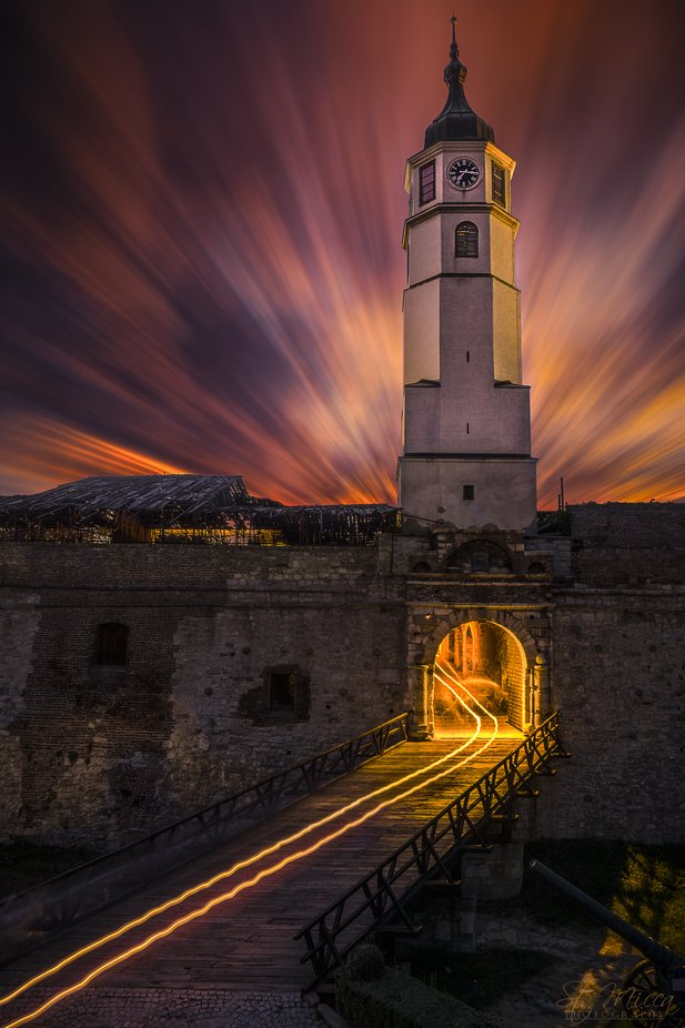 Clock Tower by St_Micca - I Love My City Photo Contest