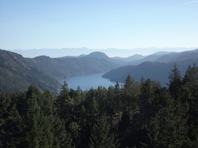 Malahat drive look out