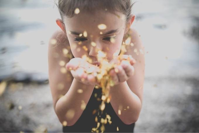 Blowing confetti by AngieMarie79 - Social Exposure Photo Contest Vol 17