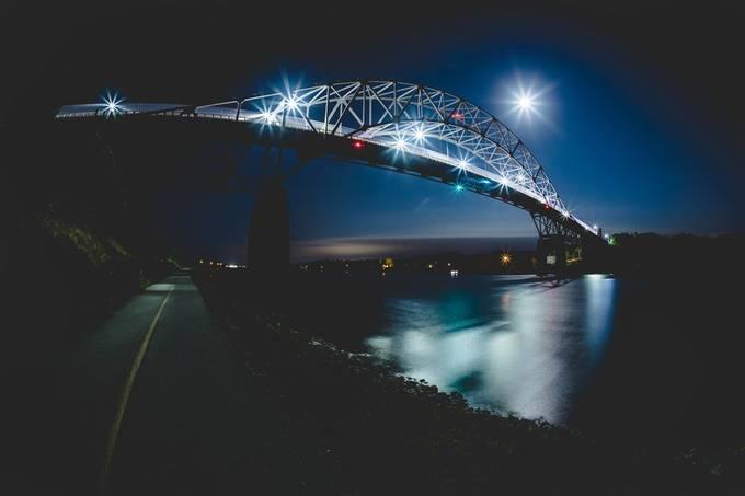 #270/365 Night Light by debralincolnmacpherson - Everything Bridges Photo Contest