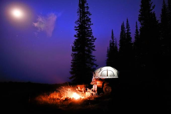Camp spot by TreverGarner - Social Exposure Photo Contest Vol 17