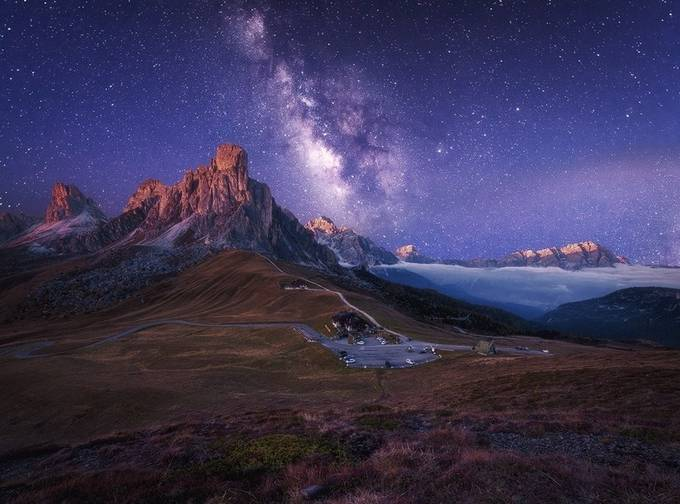 when dawn meets night by wolfgangmoritzer - Night Wonders Photo Contest