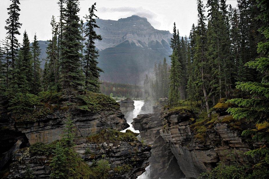 Stanley Falls (1) - Jasper National Park, Canada