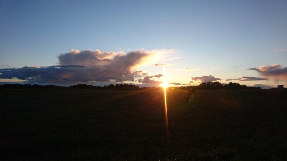 Sunrise at my job