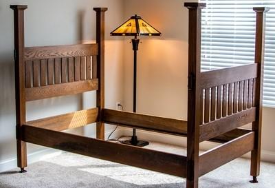 Antique Mission Bed