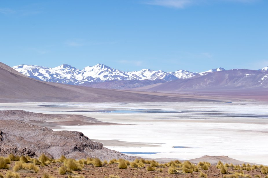 Trekking with Explora team in Atacama desert