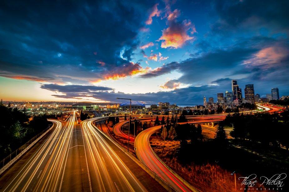 Seattle Sunset Drive
