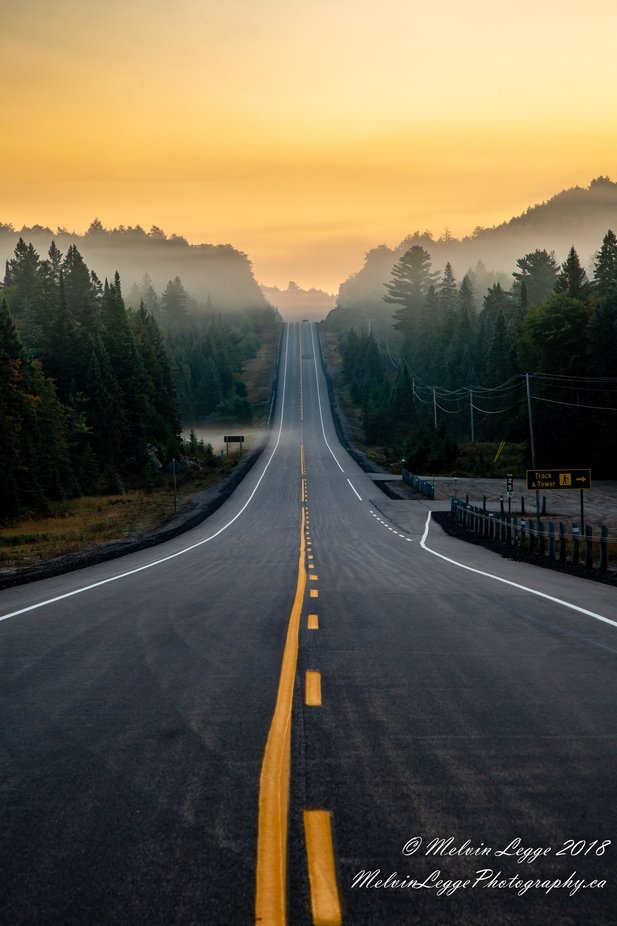 Algonquin Morning by mlegge - Straight Roads Photo Contest