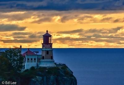 Sunrise at Split Rock Lighthouse