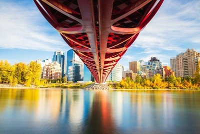 Peace Bridge Fall Season