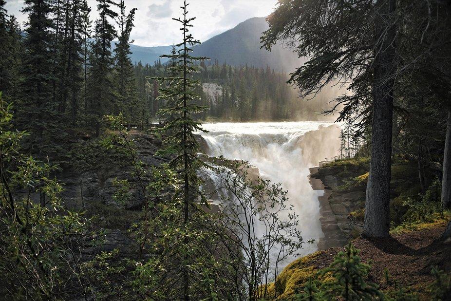 Stanley Falls (2) - Jasper National Park, Canada