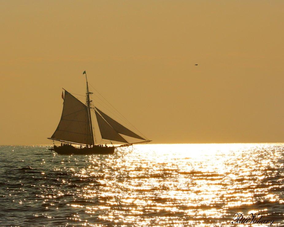 A Pirate's Sunset