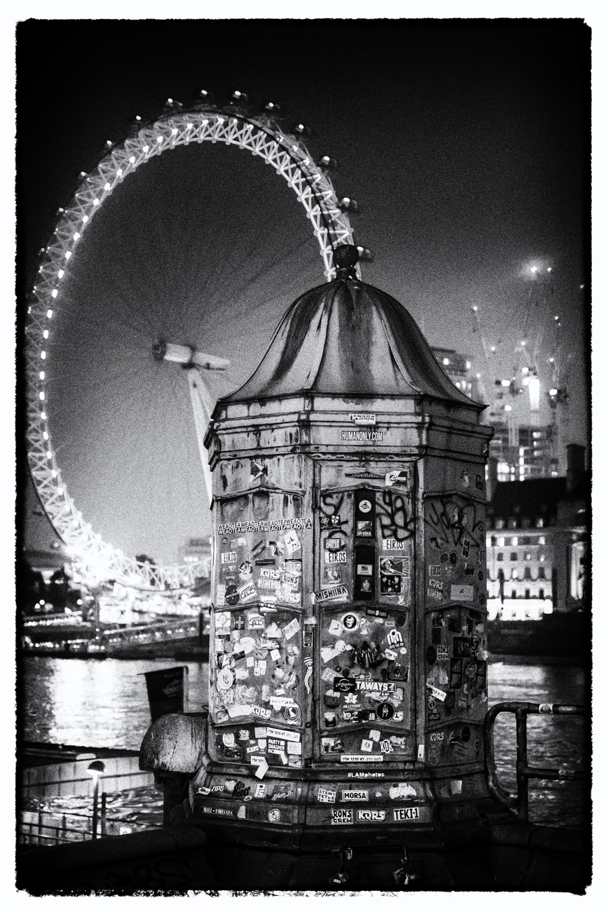 London at night - The eye from big ben