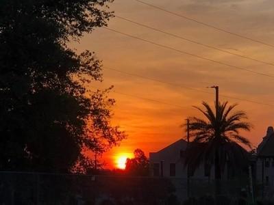 This beautiful sunrise was taken this morning in my hometown Lake Wales FL b