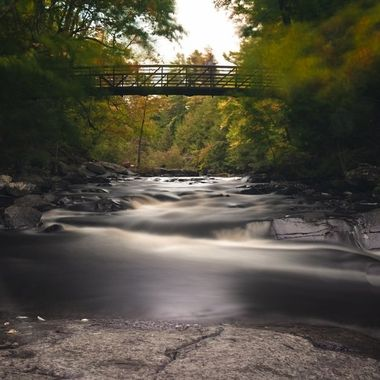 Beautiful Stubbs falls in Arrowhead Park in gorgeous Muskoka during fall colours. As we bid farewell to summer and take the warmth in natures visual display of vibrant colours and welcomes winter which is slowly making its way.