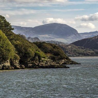 The estuary of the River Dwyryd at Portmeirion