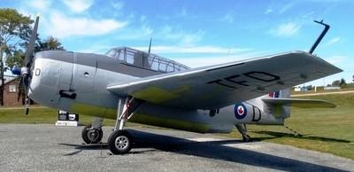 General Motors (Grumman) TBM-3 Avenger (Serial No. 85861), TFD, Shearwater Aviation Museum, 7 Sep 2018 (5)