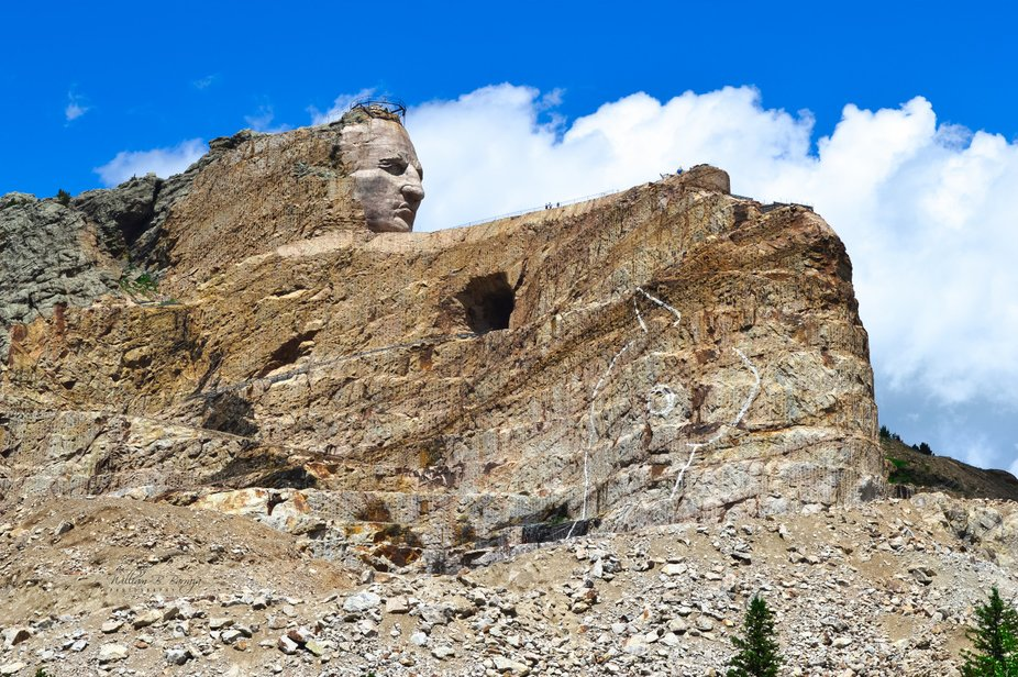 A must go see on your bucket list, Crazy Horse Memorial, SD. My family and I were speechless when...