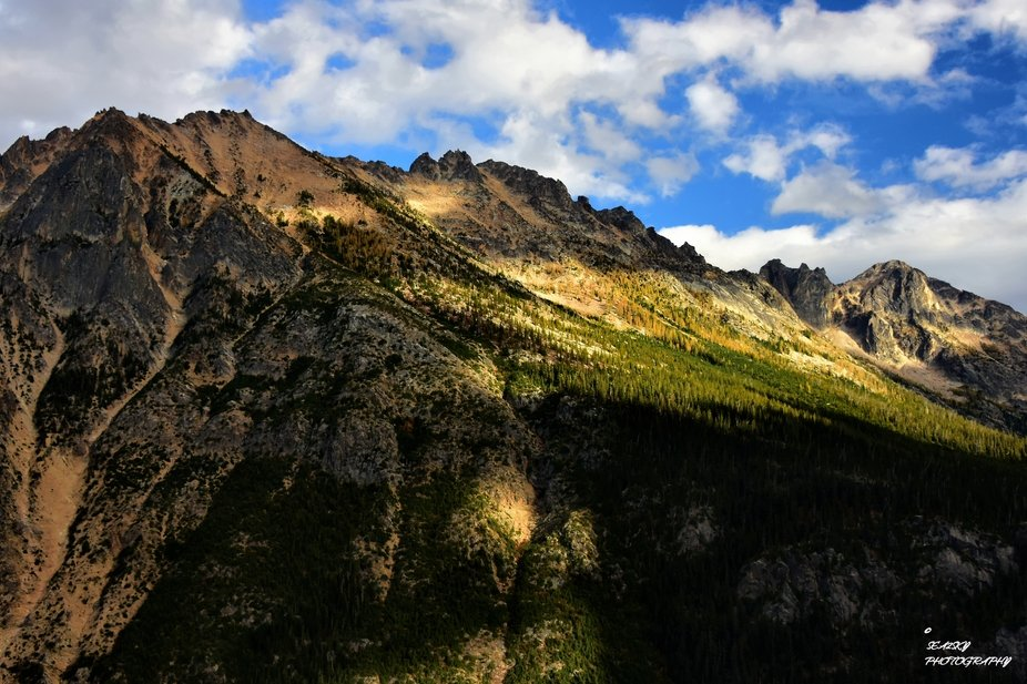 Another photograph taken from Washington Pass on the WA North Cascades Highway....